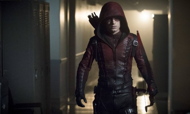 Colton Haynes as Arsenal Courtesy of The CW