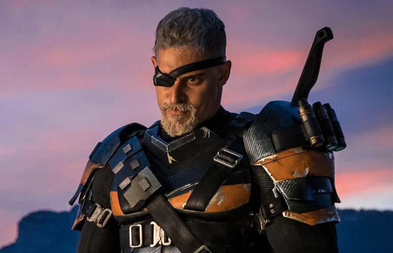 Joe Manganiello's Deathstroke Courtesy of Warner Bros.