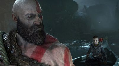 Kratos in God of War PS4