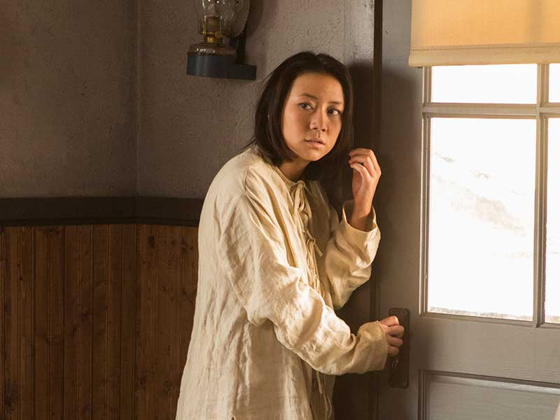 Angela Zhou in Hell on Wheels Courtesy of AMC