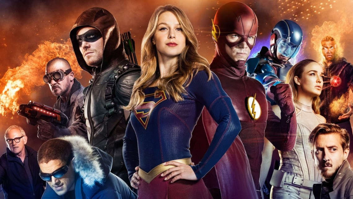 Arrowverse Poster Courtesy of The CW