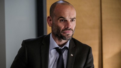 Paul Blackthorne as Quentin Lance on Arrow