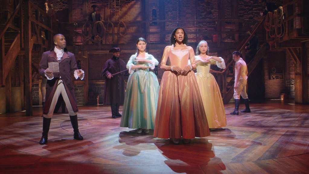 Renee Elise Goldsberry in Hamilton