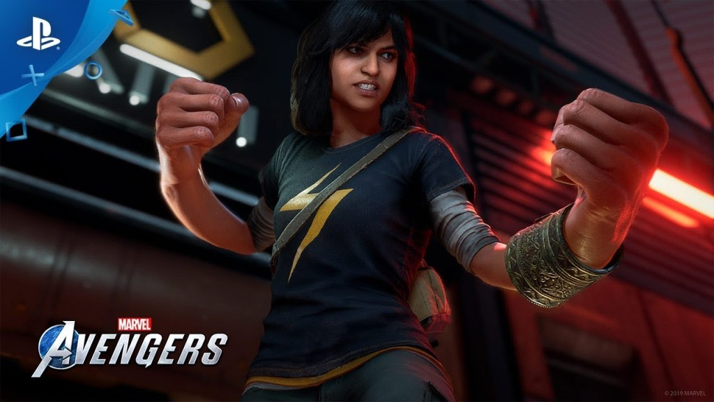 Kamala Khan in Marvel's Avengers Beta