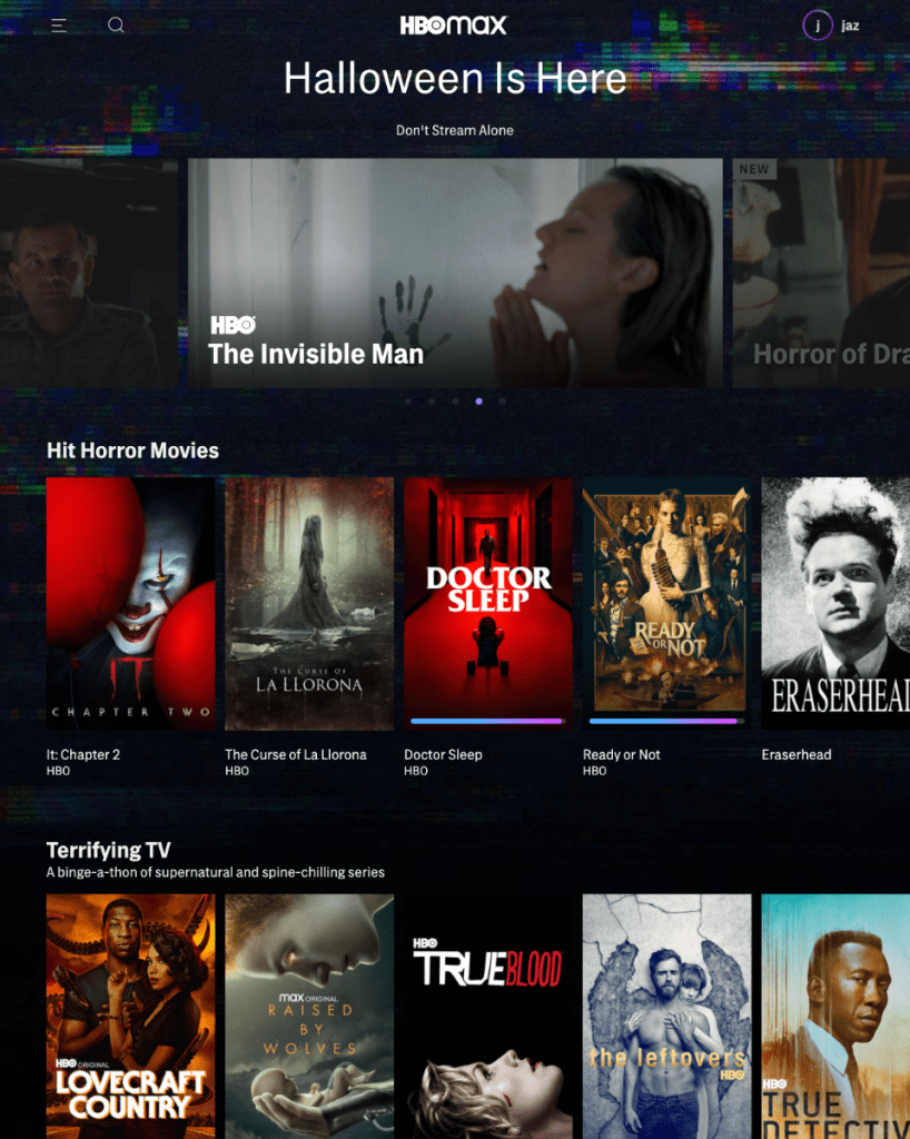 Best Halloween Movies and Tv Shows On HBO Max