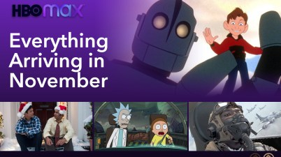 Everything Arriving and Leaving HBO Max in November