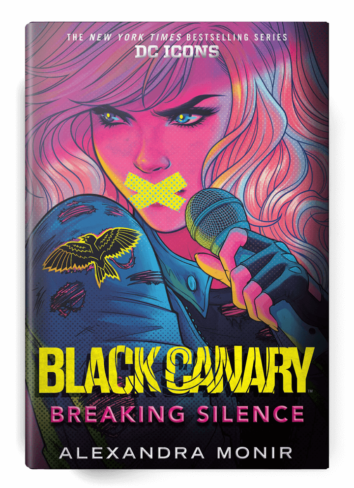 Cover art - Black Canary: Breaking Silence