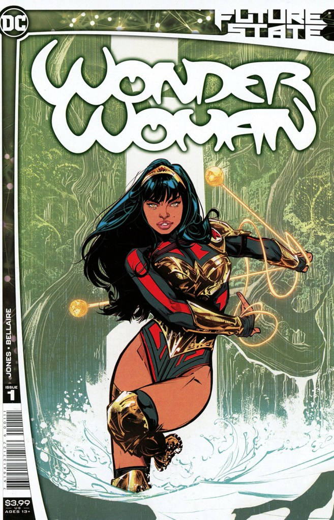 DC Future State: Wonder Woman - Cover