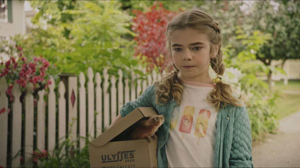Matilda Lawler as Flora in Flora & Ulysses
