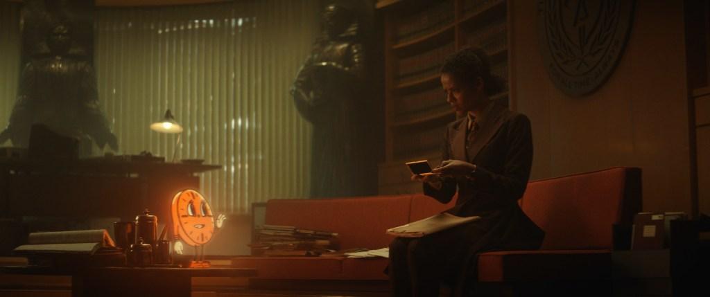 Gugu Mbatha-Raw as Renslayer in Loki.