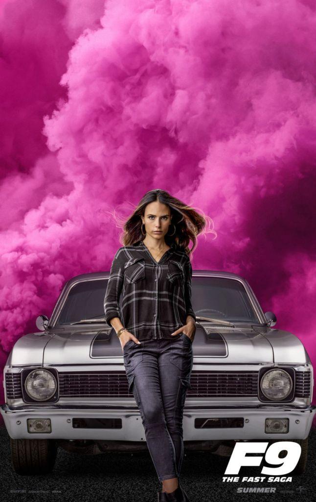 Jordana Brewster as Mia Toretto - F9 Poster