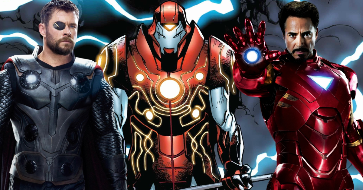 Iron Man And Thor Are Going To Get Merged Into One Superhero, Meet Iron-Hammer
