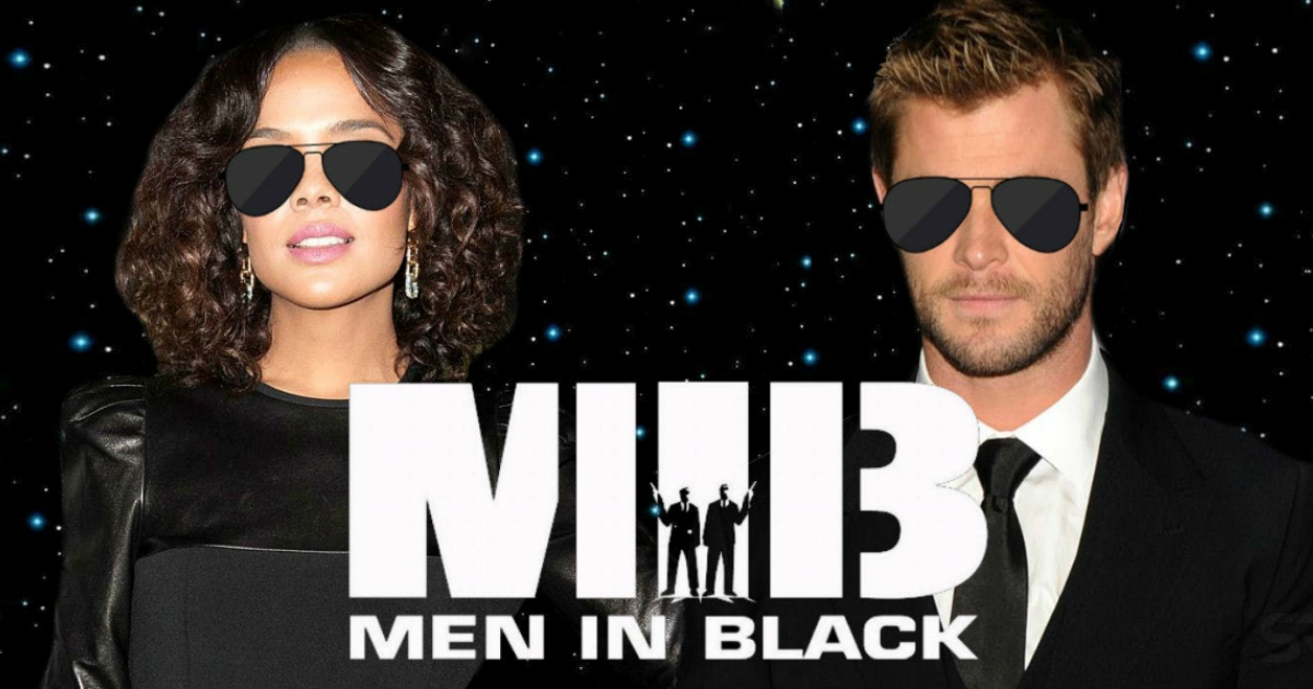 Chris Hemsworth And Tessa Thompson 's Men In Black 2 First Look In Costumes Revealed