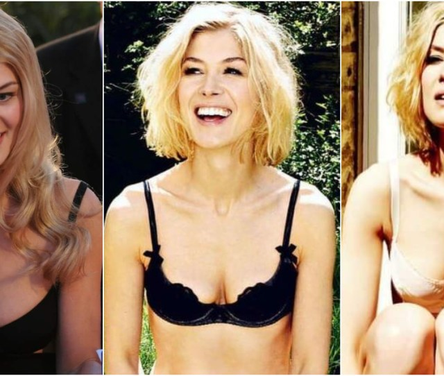 Rosamund Pike Sexy Pictures Are Simply Excessively Damn Hot