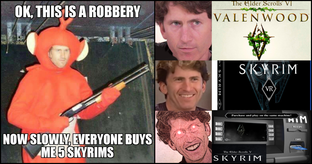 70 Todd Howard Memes That Are So Funny To Read Geeks On Coffee