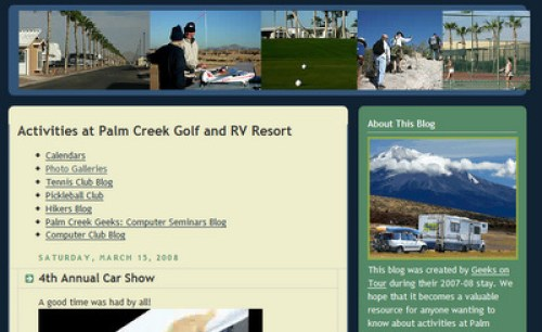 Palm Creek Blog