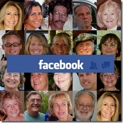 Facebook is a gathering of your real friends and family