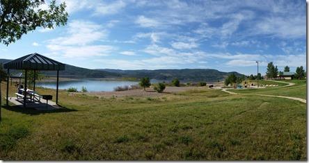 Panorama (w Galaxy S5)  of Jordanelle Park