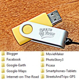 Geeks' Learning Library on USB
