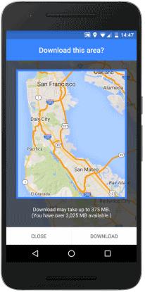 Google Maps and Offline Navigation - GeeksOnTour.COM on
