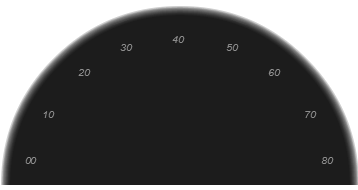 Making a speedometer using HTML5's Canvas (6/6)