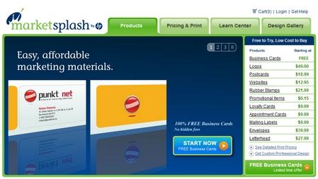 MarketSplash by HP