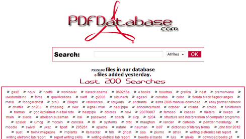 PDF Database