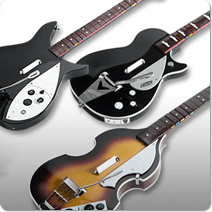 The Beatles Rock Band - The instruments