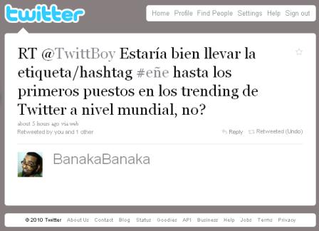 Tweet BanakaBanaka