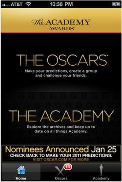 Aplicaciones gratuitas de iPhone para seguir de cerca los Oscars