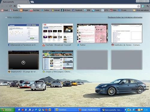 Mi Chrome personalizado.