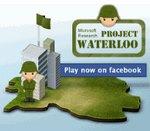 Microsoft Research lanza el juego Proyecto Waterloo en Facebook