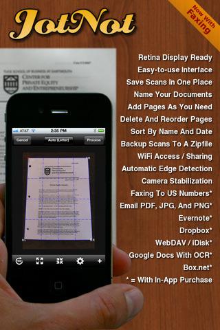 6 aplicaciones gratis de iPhone para escanear documentos 6