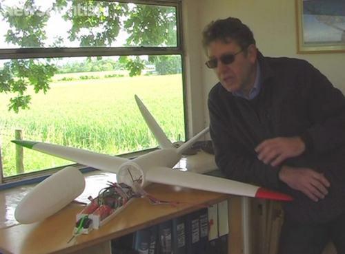 Crean un avion de aeromodelismo completamente funcional con una impresora 3D