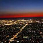 Espectacular time lapse de un aterrizaje en LAX visto desde la cabina del avión