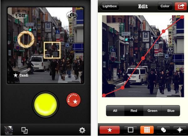 Snapster, alternativa a Instagram que te permite crear tus propios filtros #iOS 1
