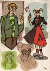 Rockabilly-Riddler-Harley-Quinn-Medri