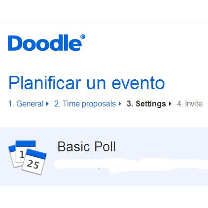 Doodle.com: Servicio que te ayuda a Planificar un evento