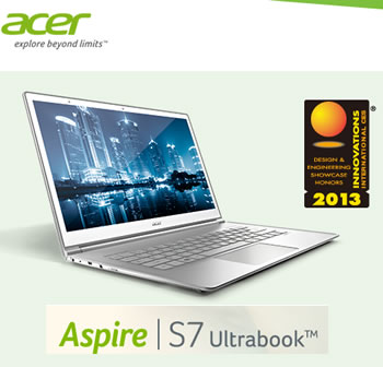 #CES2013 Acer Aspire S7 Ultrabook
