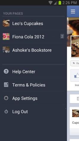 facebook-pages-menu