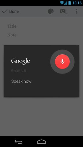 google-keep-voice