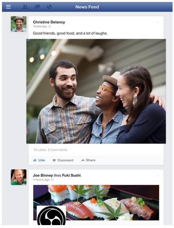 Facebook Feed de Noticias