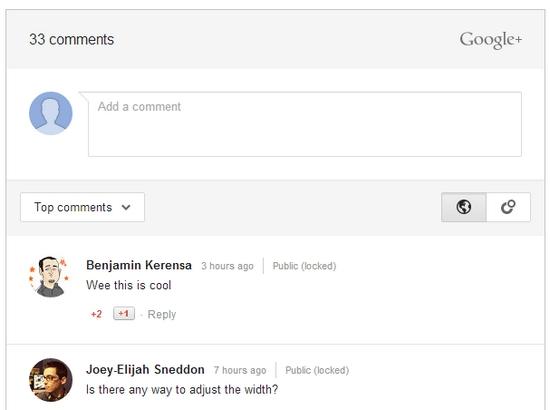 google-comments-wordpress