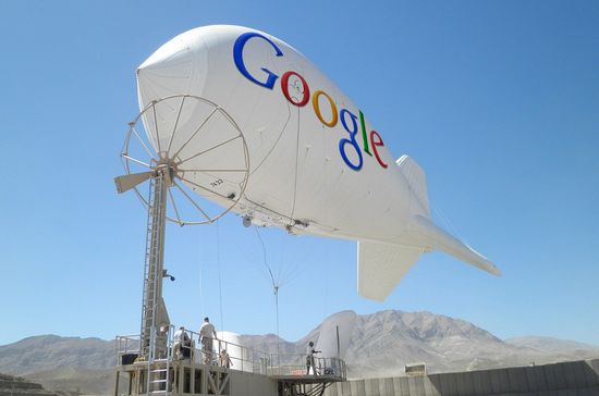 google-blimps