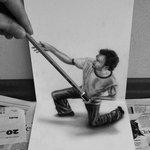 Alucinantes dibujos anamórficos de Ramon Bruin – JJK Airbrush