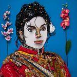 Excepcionales retratos anamórficos de famosos creados por Bernard Pras