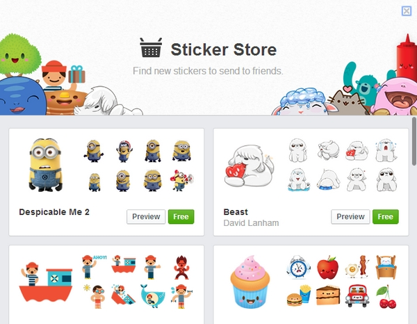 facebook-stickers-store