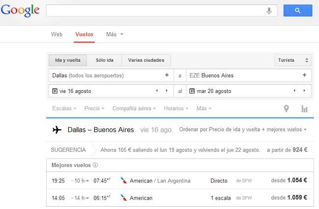 google-vuelos