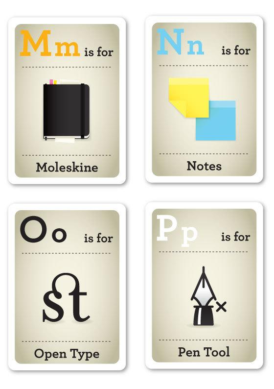alfabeto-hipster-m-p