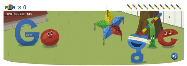 google-doodle-pinata-start